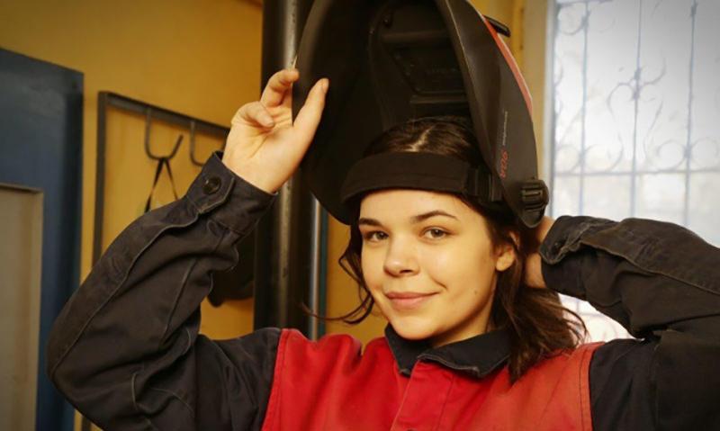17-летняя Диана Багаутдинова стала лучшим сварщиком России