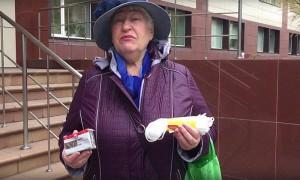 В Сибири пенсионерка передала министру «подарки» на 89 рублей прибавки
