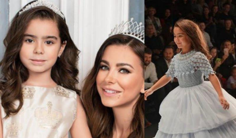 «Феерическая красотка»: дочь Ани Лорак вышла на подиум