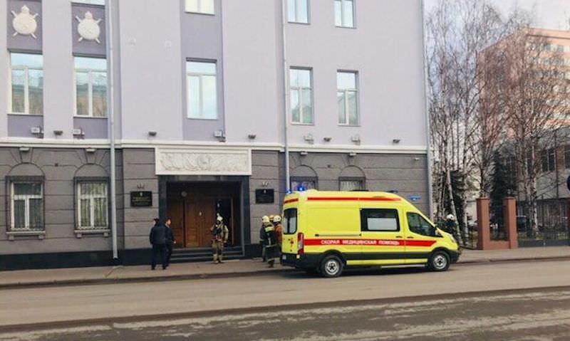 У здания ФСБ Архангельска взорвалась бомба