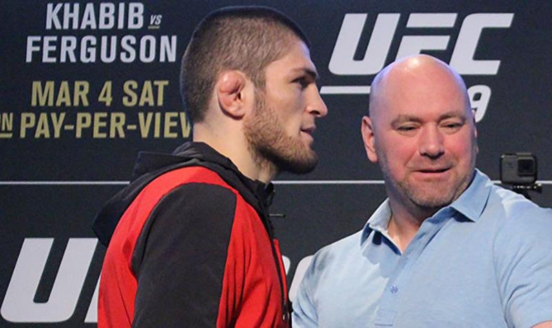 Нурмагомедов пригрозил разбить машину президенту UFC Уайту