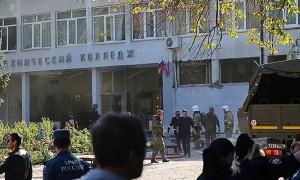 После взрыва в Керчи в колледж ворвались автоматчики