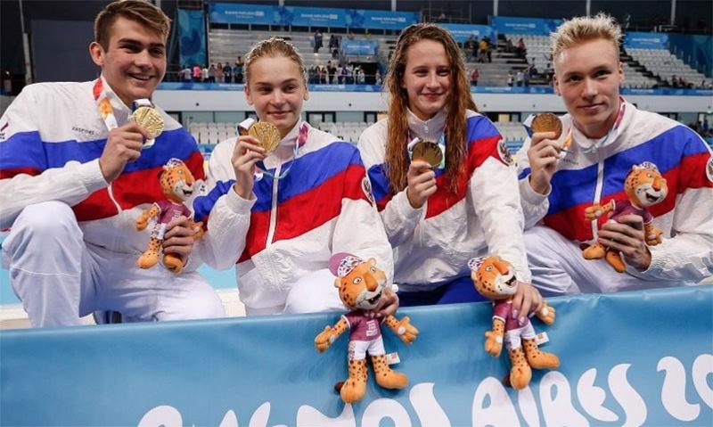 Россияне вернулись с юношеской Олимпиады с 29 золотыми медалями