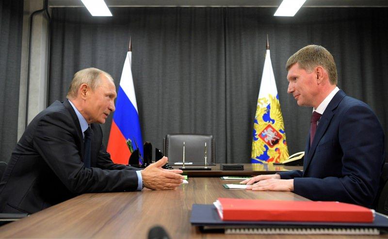 Губернатор Комарова заняла президентское кресло