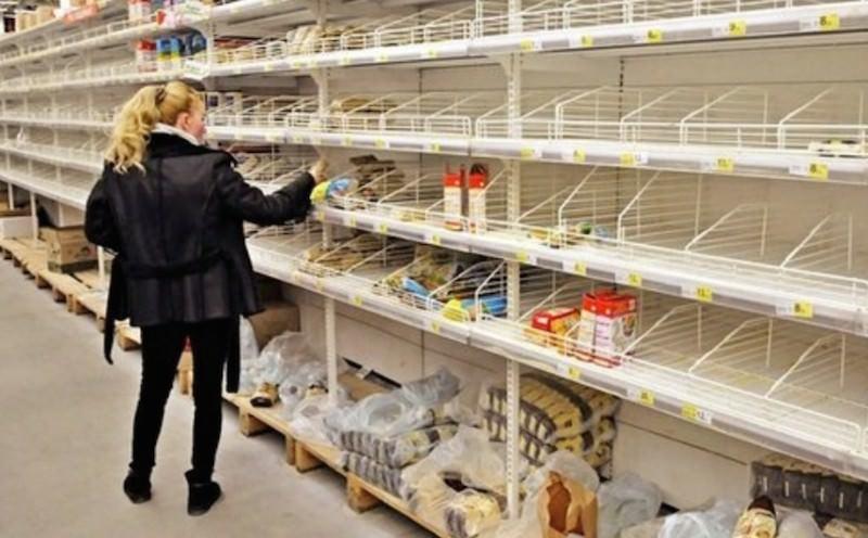 Торговые сети шантажируют россиян пустыми полками
