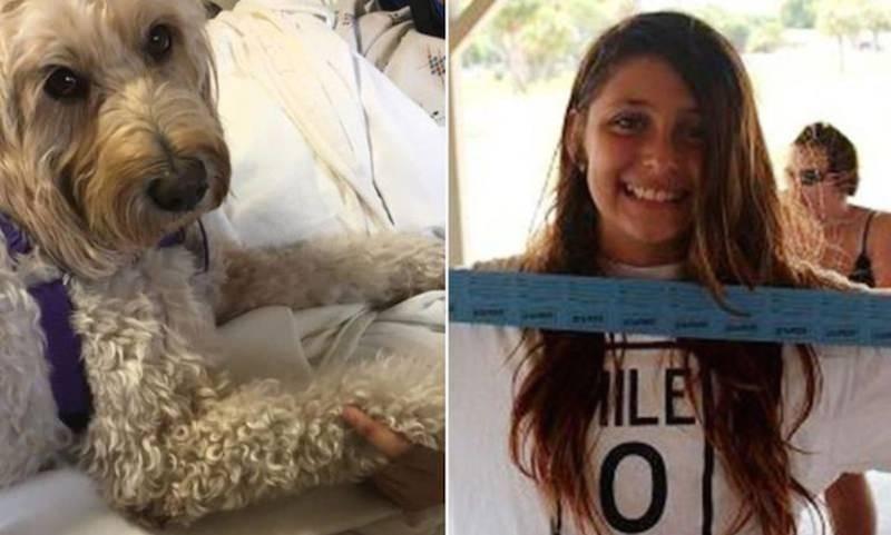 Собака-терапевт вывела девушку из длительной комы