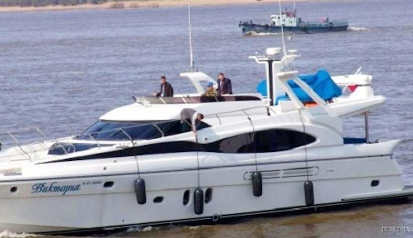 Новый губернатор Хабаровского края продает правительственную яхту