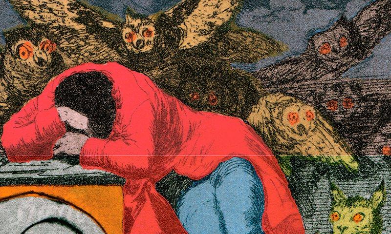 Две девушки в Екатеринбурге испортили картину Сальвадора Дали ради селфи