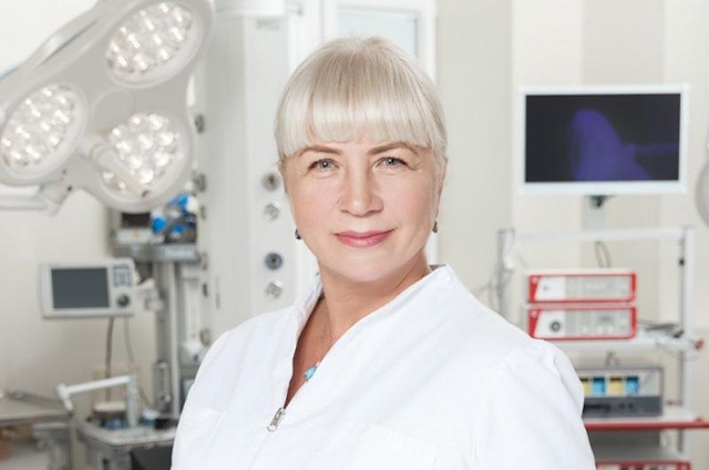 Заслуженный врач России, доктор медицинских наук Ирина Буштырева
