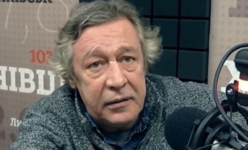 Крах и морок: Ефремов раскритиковал Россию на украинском радио