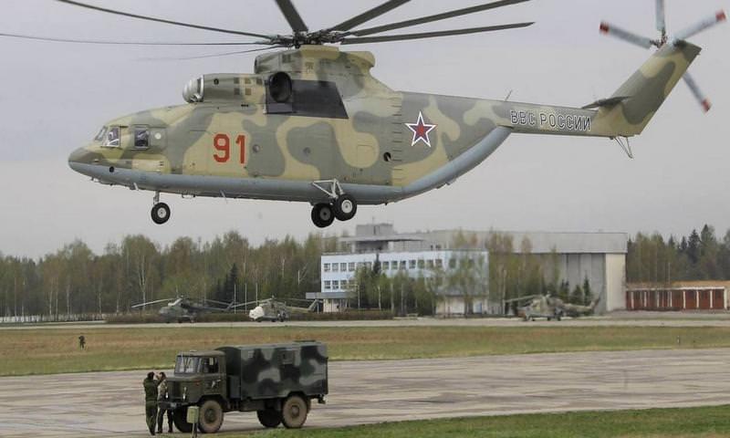 В Ненецком АО разбился Ми-26, есть жертвы