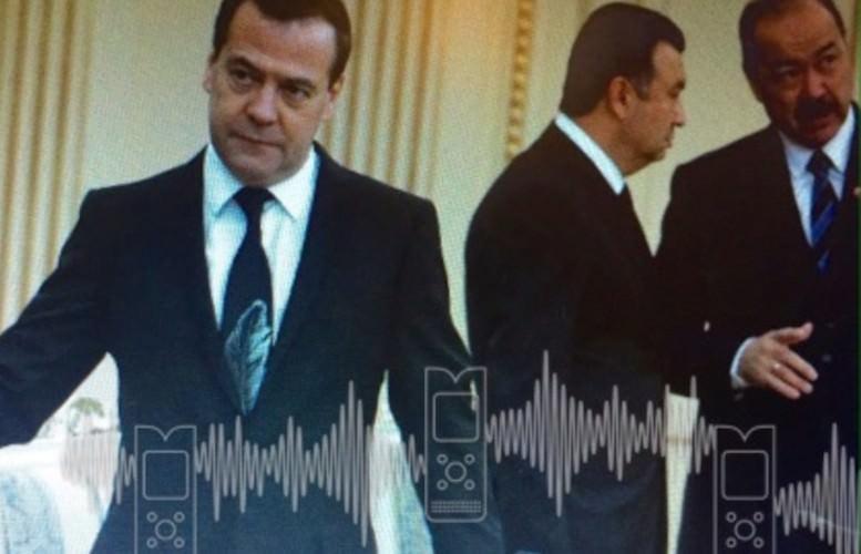 Из-за экстравагантного галстука Медведеву пришлось рассказать, кто выбирает всё это