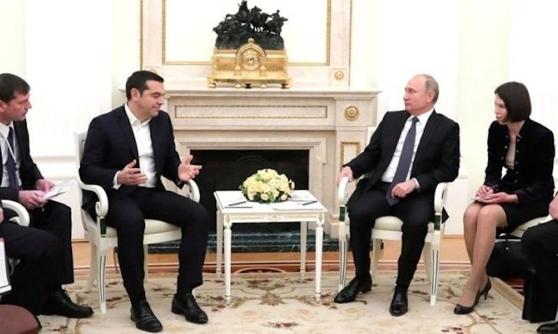 Путин пообещал подарить Ципрасу