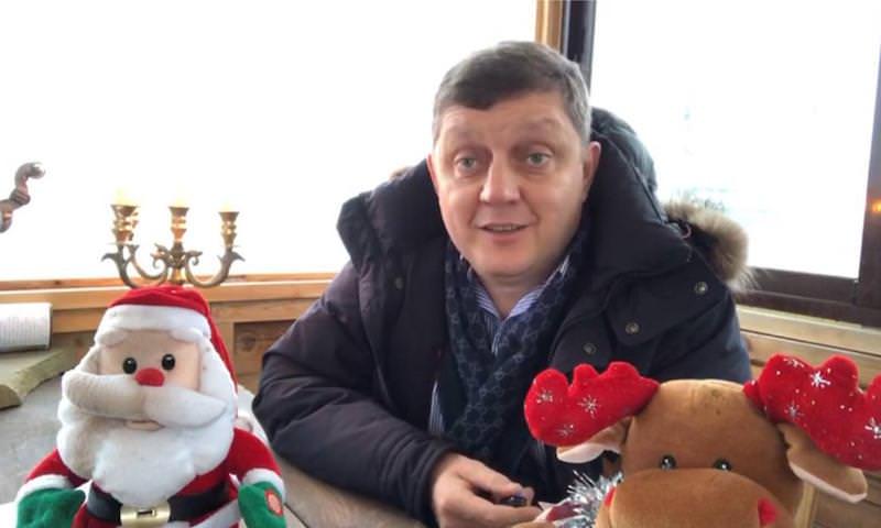 Главный редактор сети «Блокнот» поздравляет всех читателей с Новым годом