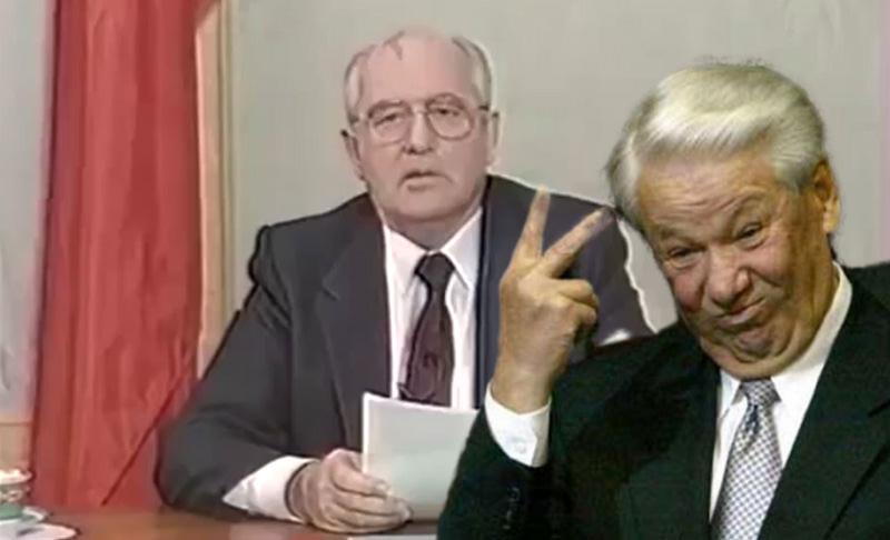 Календарь: 25 декабря - Президент СССР Горбачев ушел в отставку, понимаешь...