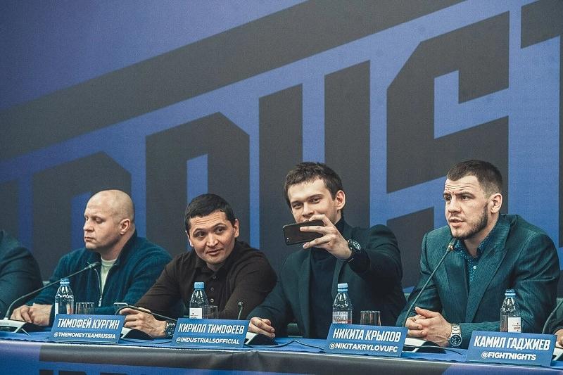 Тимофей Кургин: «Владимир Мышев - один из лучших молодых боксёров России» - Блокнот