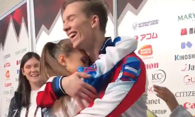 Российские фигуристы заняли весь пьедестал в финале юниорского Гран-при