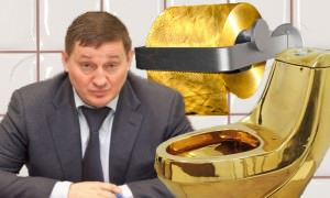 Губернатору Бочарову  заказали туалет  за 4 млн рублей
