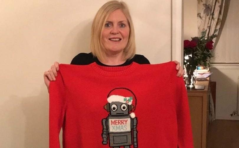 Женщина сбросила 40 кг из-за уродливого свитера
