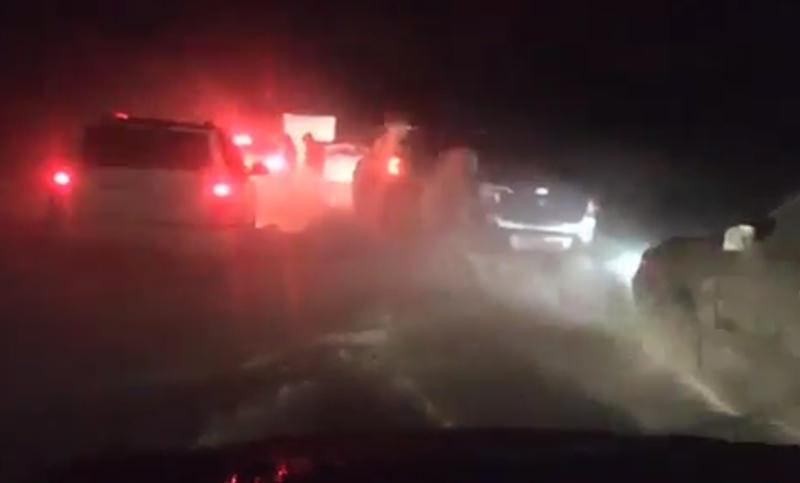 Трассы Юга России парализовал циклон