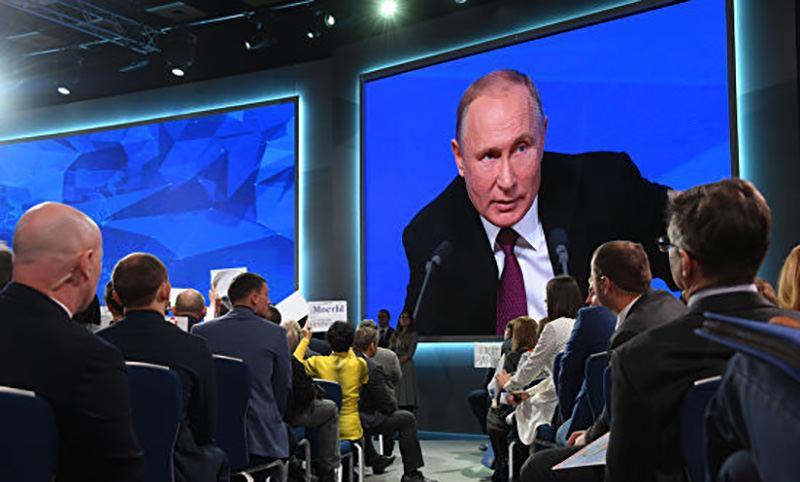 """""""Не дождётесь!"""": самые ядрёные цитаты Путина на пресс-конференции"""