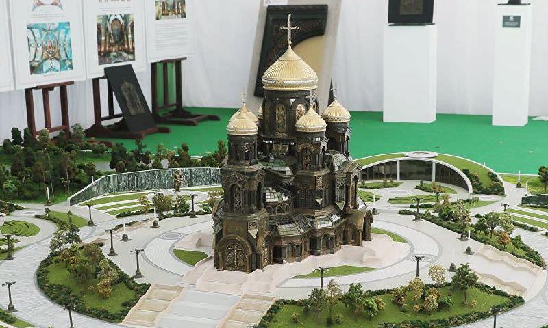 Шойгу хочет отлить ступени главного храма Минобороны из трофейной техники вермахта