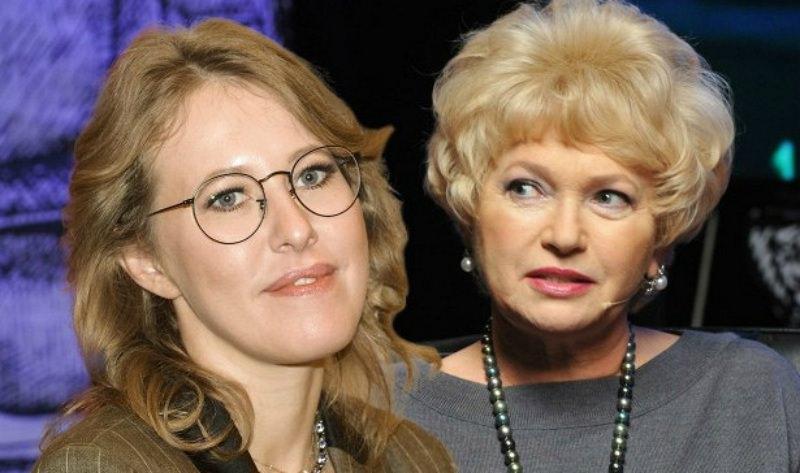 Мама Собчак рассказала, что думает о скандальном прошлом дочери
