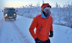 «Это как выход в открытый космос»: Дмитрий Волошин поставил рекорд, пробежав 50 км при - 60 градусах