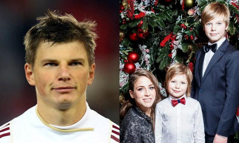 Аршавин впервые за пять лет встретился с детьми от Барановской