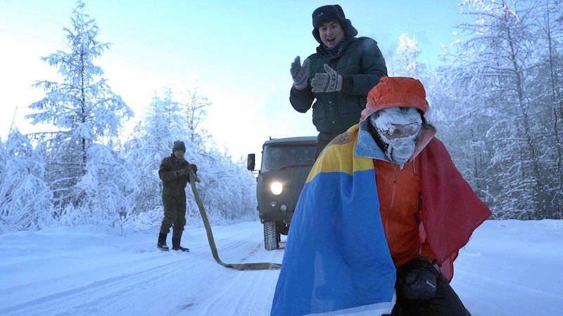 «Это как выход в открытый космос»: Дмитрий Волошин поставил рекорд, пробежав 50 км при – 60 градусах