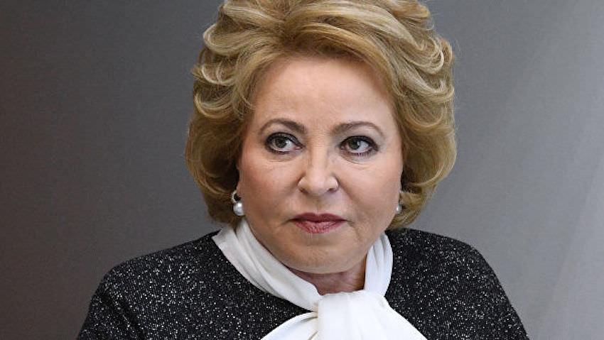 Матвиенко дарит оппозиционерам еще один шанс. Что стоит за заявлением спикера Совфеда?
