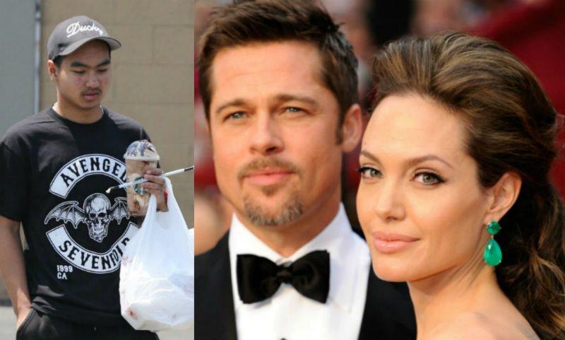 «Психанул»: сын Джоли и Питта решил съехать от них