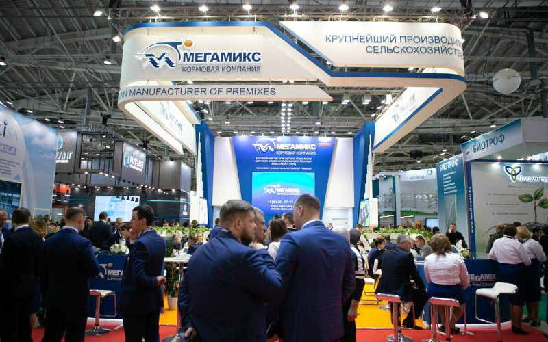 «МЕГАМИКС» на XXIV торгово-промышленной выставке в Москве