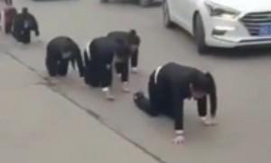 Как в Китае наказывают за невыпонение плана