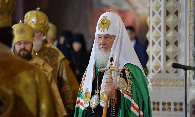 Патриарх Кирилл связал гаджеты с пришествием антихриста