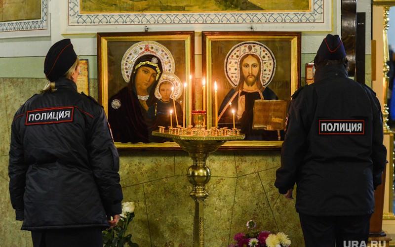 ФСБ заявила о необходимости защитить храмы от терактов