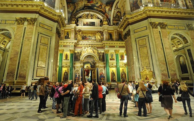 РПЦ раздумала забирать себе Исаакиевский собор