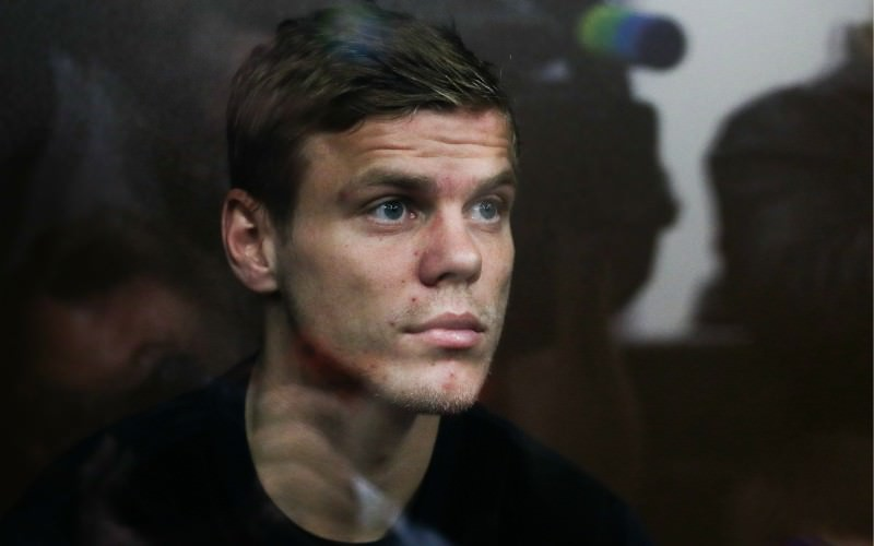 Александр Кокорин возмущен отсутствием бассейна в СИЗО