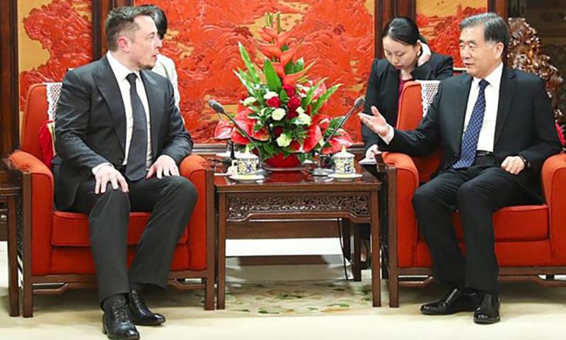 Китай предложил Илону Маску переехать в Поднебесную