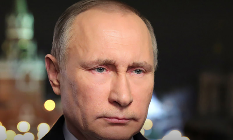 Новогоднее обращение Путина посчитали