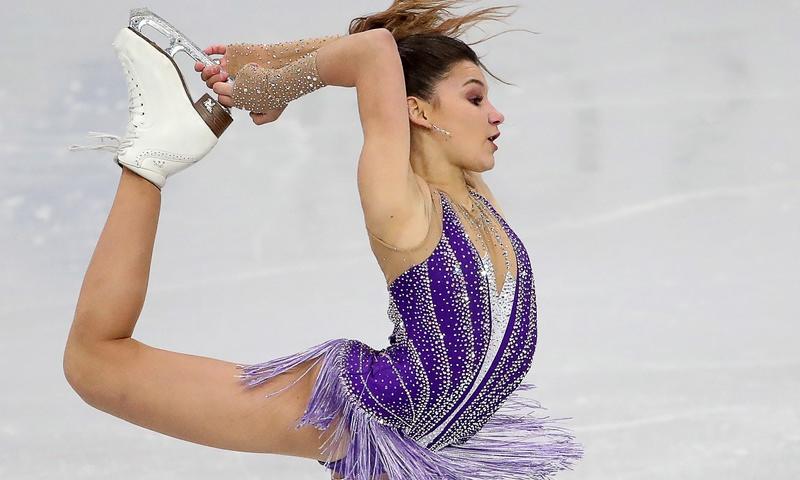 Российская фигуристка Самодурова стала чемпионкой Европы