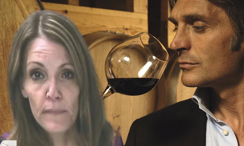 Мужчина почувствовал странный вкус вина и проследил за женой