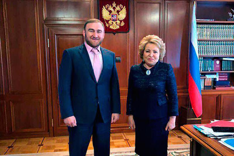 Матвиенко не нашла сенаторов с сомнительной репутацией: Арашуков - единственный