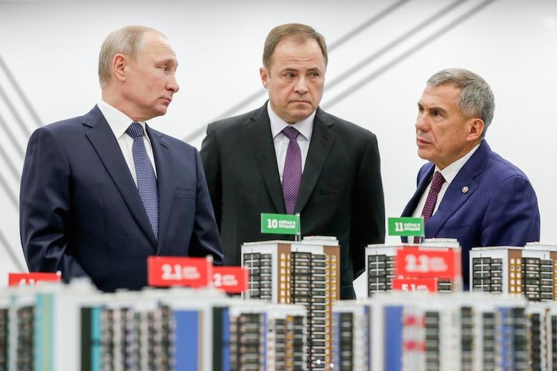 Замечание - это, когда заметил: Минниханов не обиделся на Путина