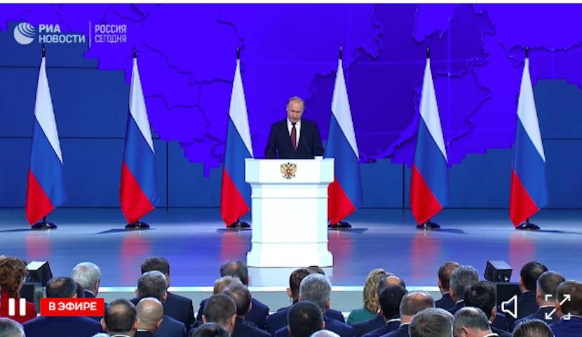 Путин объявил об увеличении детских пособий