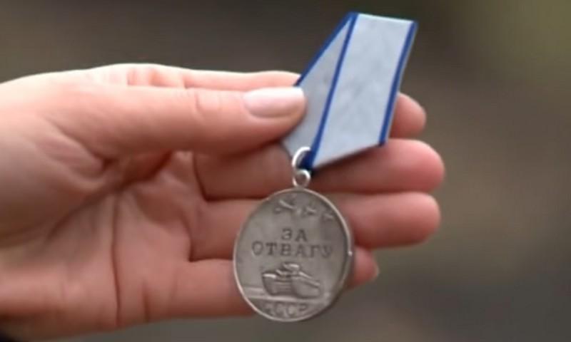Ветерану вернули медаль, потерянную в бою в 1945-м