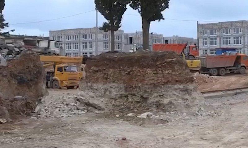 В Севастополе застройщики уничтожают краснокнижные деревья
