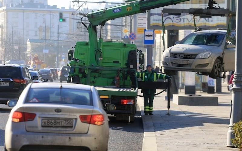 За незаконную эвакуацию автомобилей пригрозили штрафом до 50 тыс рублей