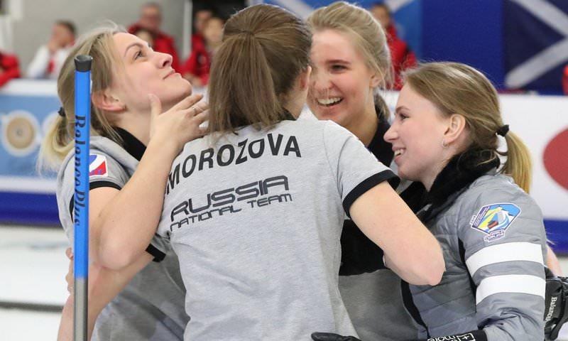 Российские юниорки выиграли чемпионат мира по керлингу