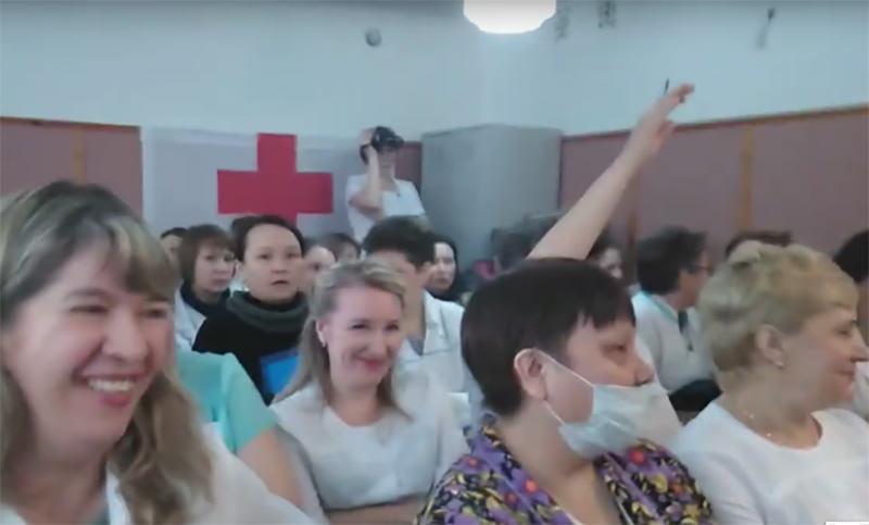 В Башкирии врачи посмеялись над